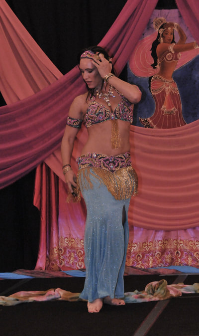 Suzanna in Belly Dancer USA.